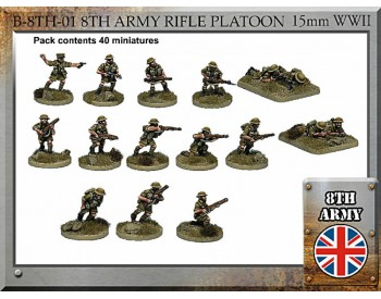 B-8TH-01 British Army Rifle Platoon