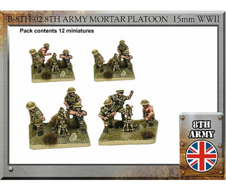 B-8TH-02 British Army Mortar Platoon