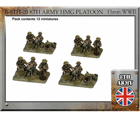 B-8TH-03 British Army HMG Platoon
