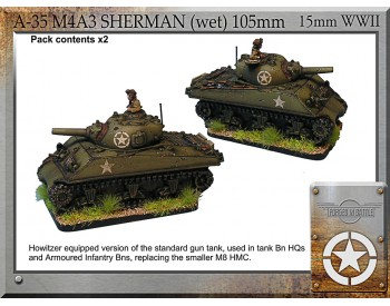A-35 M4A3 Sherman (wet) 105mm