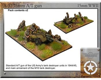 A-53 76mm A/T gun