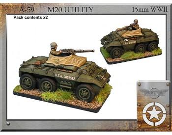 A-59 M20 utility x 2