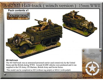 A-62 M3 halftrack + winch x1