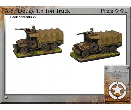 A-67 DODGE 1.5 Ton Truck x 4
