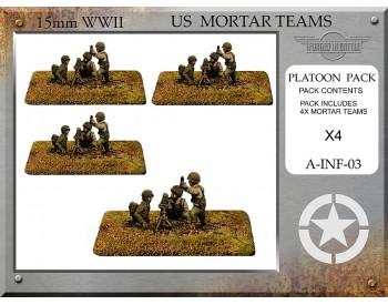 A-INF-03 US 81mm Mortar Teams