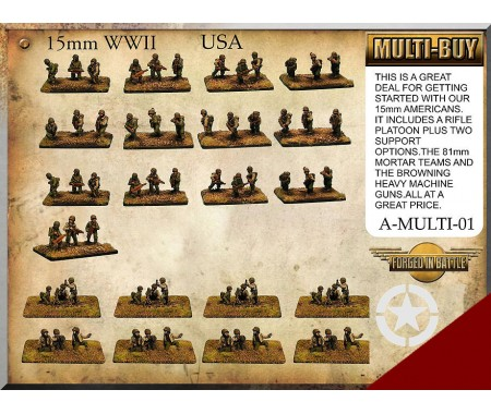 A-MULTI-01 US Infantry Multi-Buy