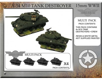 A-54 M10 76mm Tank Destroyer x 4