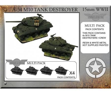 A-54 M10 76mm Tank Destroyer x 4