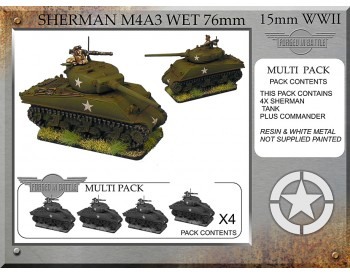 A-32 Sherman M4A3 wet 76mm (4 tanks)
