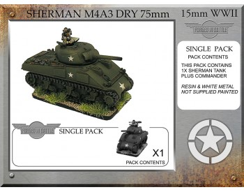 A-22-ONE Sherman M4A3 dry 75mm (1 tank)