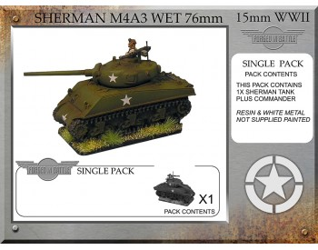 A-32-ONE Sherman M4A3 wet 76mm (1 tank)