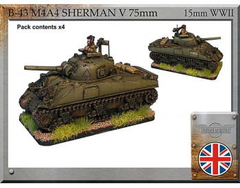 B-43 M4A4 Sherman V 75mm