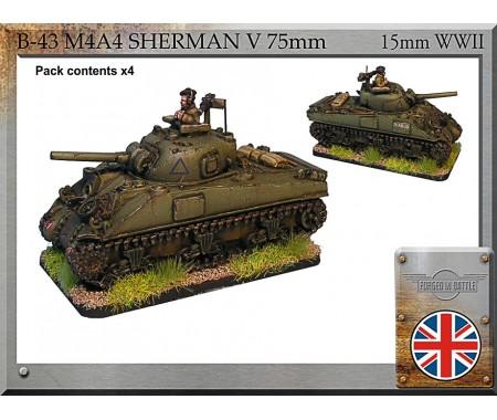 B-43 M4A4 Sherman V 75mm
