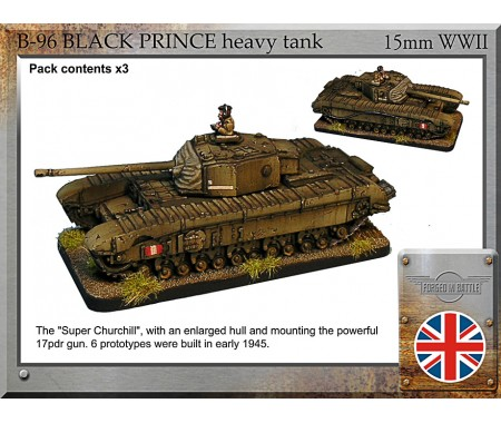 B-96 Black Prince heavy tank