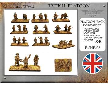 B-INF-01 British Infantry Platoon