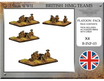 B-INF-03 British Vickers HMG Teams