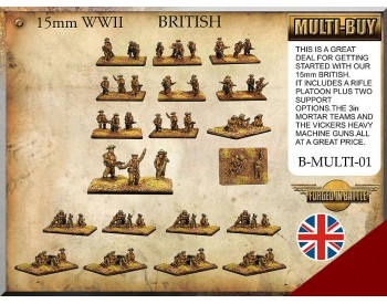 B-MULTI-01 British Infantry Multi-buy