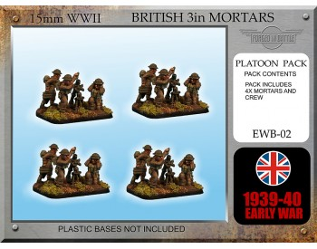 EWB02 Early War British 3in Mortars