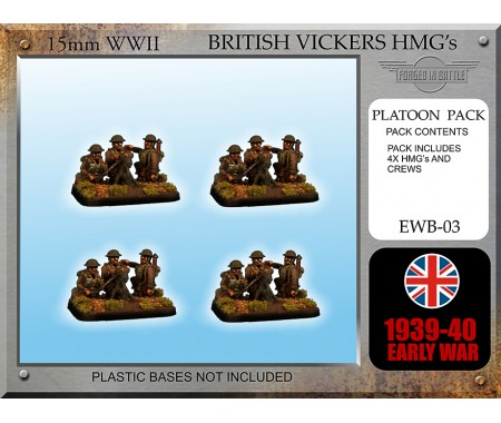 EWB03 Early War British Vickers HMG teams