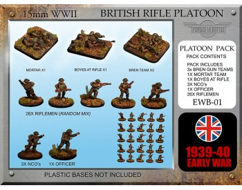 EWB01 Early War British Rifle Platoon