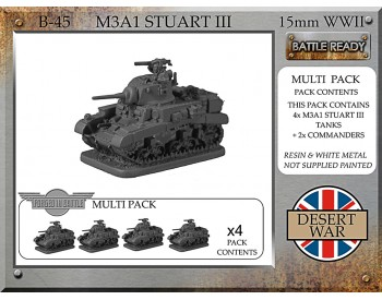 B-45 M3A1 Stuart III