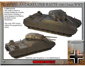 Ratte 1945, super tank Rest Of The World Customers