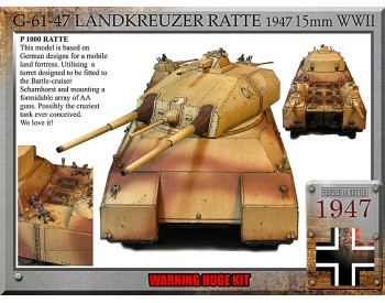 Ratte 1947, super tank Rest Of The World Customers