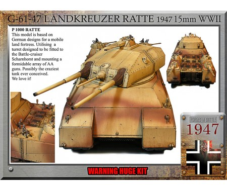 Ratte 1947, super tank Western European Customers