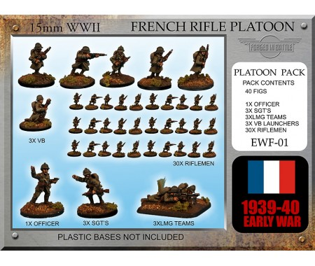 EWF01 Early War French Rifle Platoon