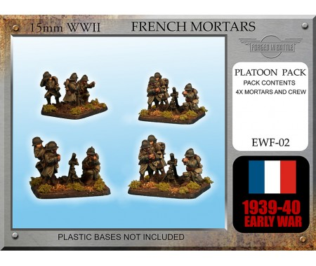 EWF02 Early War French Brandt Mortar mle 27/31 Teams