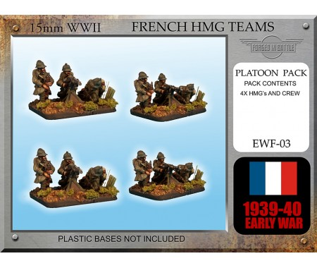 EWF03 Early War French HMG Teams