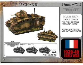 F-03 Char B1 bis
