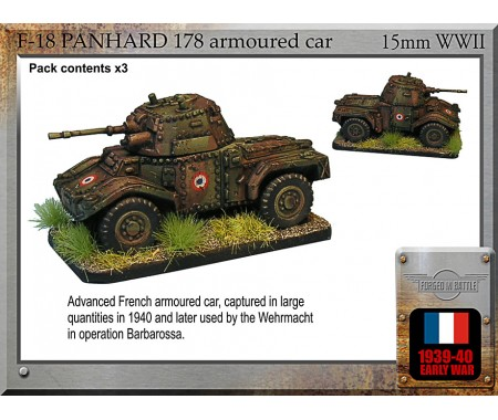 F-18 Panhard 178 armoured car