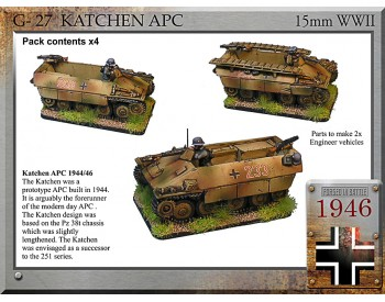 G-27 Katzchen APC + engineer version