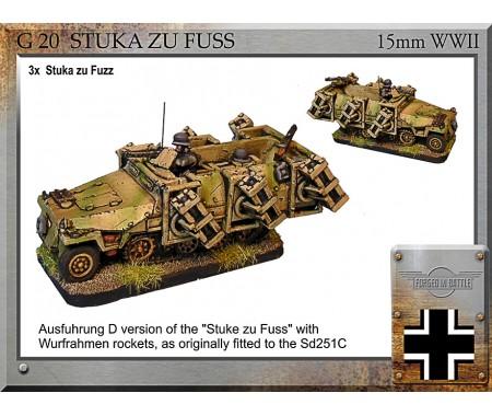 G-20 Sd251d Stuka zu Fuss