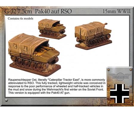G-32 7.5cm Pak40 auf RSO