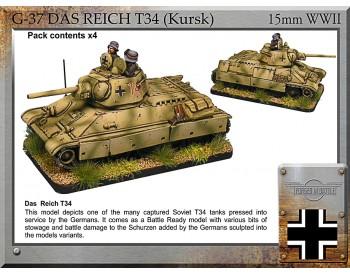 G-37 Das Reich T34 (Kursk) x 4