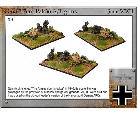 G-68 3.7cm Pak36 AT Guns & Crew