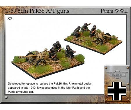 G-69 5cm Pak38 AT Guns & Crew