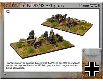 G-70 7.5cm Pak97/38 AT Guns & Crew
