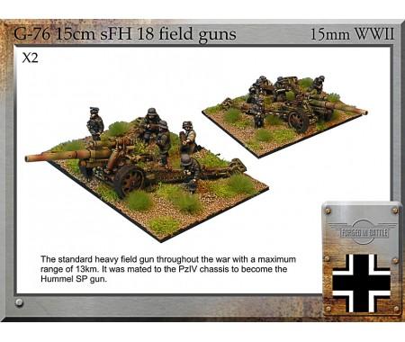 G-76 15cm sFH18 Guns & Crew