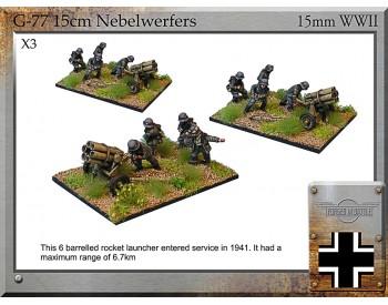G-77 15cm Nebelwerfers & Crew