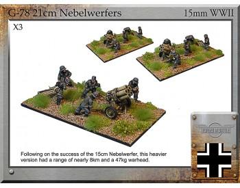 G-78 21cm Nebelwerfers & Crew