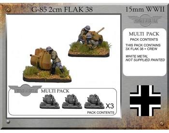 G-85 2cm Flak38 x 3
