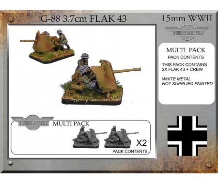 G-88 3.7cm Flak 43 x 2