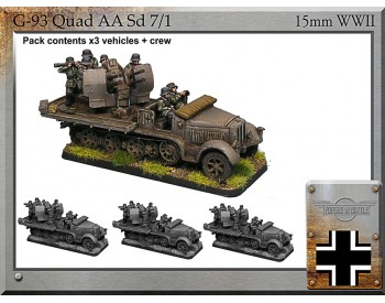G-93 Sd7/1 (softskin) x 3
