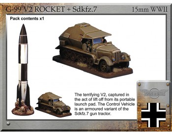 G-99 V2 rocket + Sdkfz.7 Control Vehicle