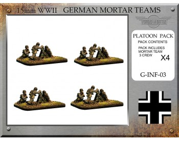 G-INF-03 German 8cm Granatwerfer 34 Mortar Teams