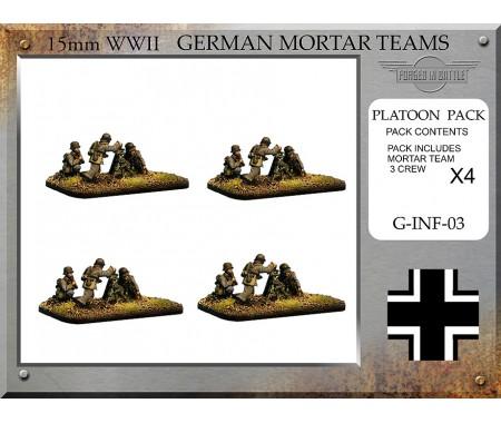 G-INF-03 German 8cm Granatwerfer 34 Mortar Teams