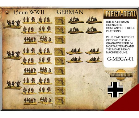 G-MEGA-01 German Infantry Mega Deal